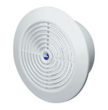 Circle Air Vent Grill Cover 125mm Ducting White Ventilation Cover Z-(60)