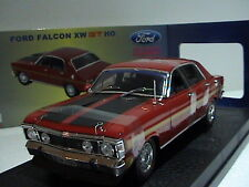 FORD FALCON XW GTHO 1:24  LIMITED EDITION 1 OF 2500 OZ LEGENDS CANDY APPLE RED