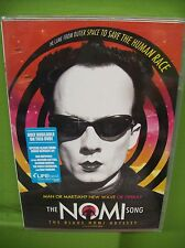 "KLAUS NOMI ""THE NOMI SONG"" DVD DOCUMENTARY SEALED W SPECIAL FEATURES 2004 BOWIE"
