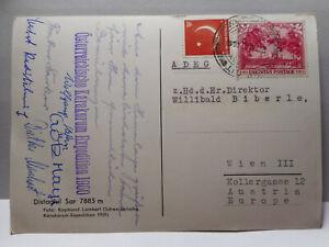 AK - Himalaya - 1960 - Österr. Karakorum - Expediton - Unterschriften