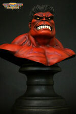 HULK RED MINI-BUST BY BOWEN DESIGNS, SCULPTED BY RANDY BOWEN