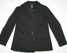 WOMENS BLACK STRETCH OFFICE JACKET COAT = GAP = SIZE 6 = wwfw