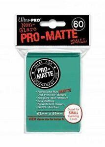 60 Ultra Pro Aqua Pro-Matte Deck Protectors. Trading Card Sleeves.