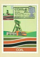 PHQ Postcard FDI No.27b 101 Years of Mining at South Leicester Colliery MH8
