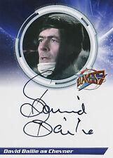 Blake's 7 Trading Card Series 1 Autograph Card S1DB David Bailie As Chevner