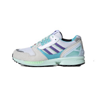 [Adidas Originals] ZX 8000 Shoes Sneakers - White/Aqua(EF4366)