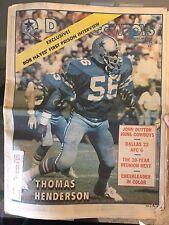 NFL Dallas Cowboys Official Weekly Magazine October, 20, 1979; Vol. 5, No. 19