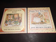 (2) by Jane Breskin Zalben (Happy Passover / New Year)  (Hardcover; VGCon)