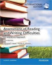 Assessment of Reading and Writing Difficulties 5e by Marjorie Y. Lipson