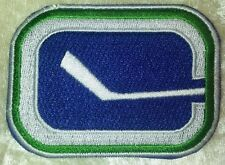 "Vancouver Canucks NHL Logo 3"" Iron On Embroidered Patch ~USA Seller~"