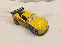 Disney Pixar Cars JEFF GORVETTE WGP RACER MATTEL 1:55 Diecast TOKYO DRIFT