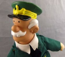 "Beetle Bailey Plush Doll General Halftrack 16"" Toy Works 2000 King Features Army"