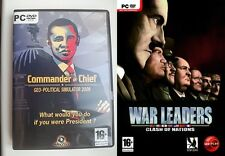 commander in chief geo political simulator 2009 & war leaders clash of nations