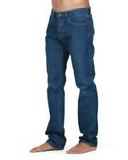 BILLABONG Mens Indigo Fifty Straight Leg Stretch Jeans, Size 32. NWT RRP $99.99