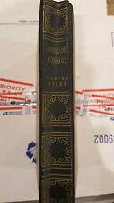 EUC BOOK ROBINSON CRUSOE DANIEL DEFOE ART TYPE EDITION NEW YORK