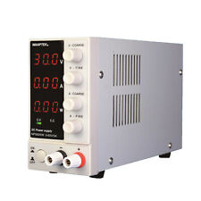Digital Lab Dc Bench Power Supply 0 60v 0 5a Regulated Adjustable Nps605w