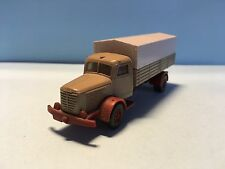 Wiking Bussing Truck 47 S Green/Beige 1/87 Scale Used Condition