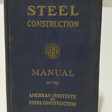 AISC Steel Construction Manual 5TH ED. 1955-HC-Architect-Engineer-Fabricator