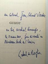GABRIEL DE BROGLIE GUIZOT+DEDICACE SIGNATURE+LIVRE ILLUS HISTOIRE DE FRANCE BOOK