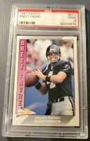 1991 Pacific Brett Favre #551 PSA 9 Mint Condition