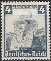 Stamp Germany Mi 589 Sc B70 1935 War Fascism Silesia Native Costume MH
