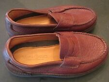 Men's Sz 6 4 E EXTRA WIDE  Oxblood Brown Penny Loafers Maine Classics NWOB  USA