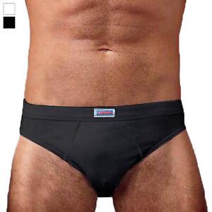 3 Slip intimo uomo vita bassa in cotone elasticizzato mutande elastico interno