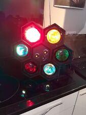 Soundlab 6 pod disco lights - sound activated, speed control, alternating flash