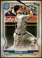 Jake Rogers 2020 Topps Gypsy Queen 5x7 #225 /49 Tigers
