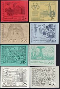 Sweden 1966-70's Collection of 28 Complete Booklets