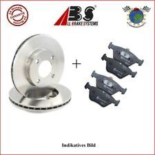 Kit Bremsscheiben und Bremsbeläge hinten ABS RENAULT MEGANE CLIO ##9