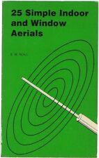 25 Simple Indoor and Window Aerials - E.M. Noll - Vintage Ham Radio Antenna - CD