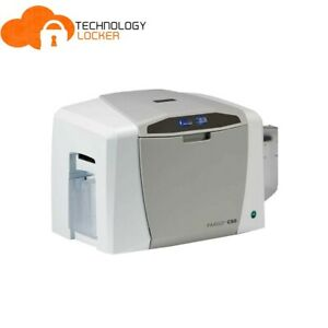 HID® FARGO® C50 Single-Sided ID Direct-to-Card Printer w/ Adapter