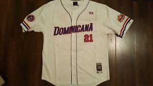 Dominican Republic baseball Jersey Latin Baseball Jersey Negro Leagues Jersey 3X