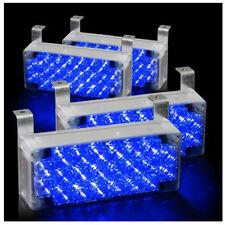 88 LED Car Emergency Hazard Flash Strobe Warning Light For Grille Deck Blue