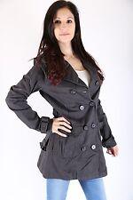 Only  Damen Trenchcoat Jacke Paddington Trench Coat Größe M Phantom *only sexy*
