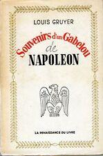 C1 Gruyer SOUVENIRS D UN GABELOU DE NAPOLEON Douanes Douanier 1798 1814 VOGHERA