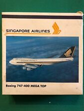 Boeing 747-400 MEGA TOP Singapore Airlines. Herpa Wings 1:500 - Art. nr. 500852