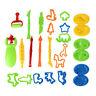 26pcs DIY Mud Set Clay Cutters Plasticine Dough Molds Children Pretend Play Toys