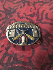 ELECTRICIAN BELT BUCKLE NEW