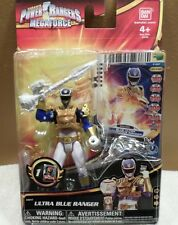 Power Rangers Ultra Blue Ranger #35117 NEW with Trading Card 2013 Ban Dai 4+