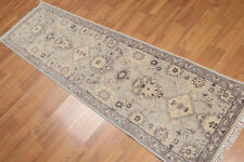 "2'4"" x 8' Hand Knotted Tabriz 100% Wool runner Persian Oriental Area rug AOR8514"