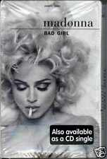 MADONNA - BAD GIRL 1993 AMERICAN CASSINGLE FACTORY SEALED MAVERICK 543918650-4