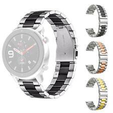 Correa Banda Pulsera de Reloj Repuesto de Acero Inoxidable Para AMAZFIT GTR 47MM