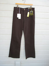 NWT Not Your Daughters Jeans Womens NYDJ Tummy Tuck Brown Butter Wash SZ 14