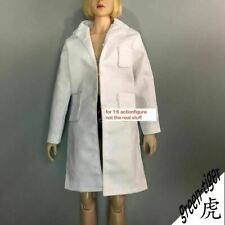 1:6 1/6 Scale ace female Action figure parts White doctor Lab coat free shipping