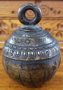 Late 19th Century Burmese Bronze Elephant Bell