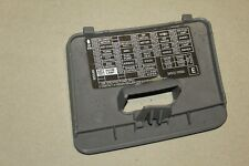 NISSAN MICRA VIBE 3DR K11 (2001) - FUSE BOX COVER - UNDER DASH 89646F600 GREY