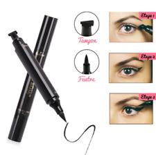Eye liner eyeliner feutre tampon stamp noir virgule parfaite retro pinup facile
