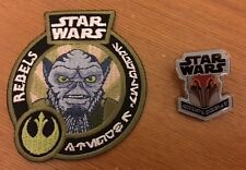 Star Wars Rebels Zeb Patch & Sabine Pin / Button - Smuggler's Bounty Exclusive